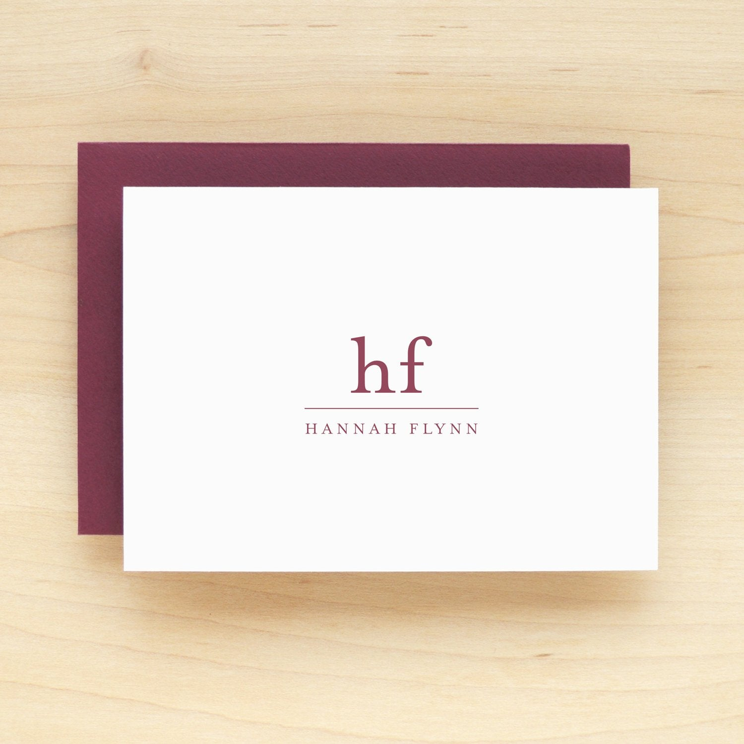 Trim Personalized Stationery