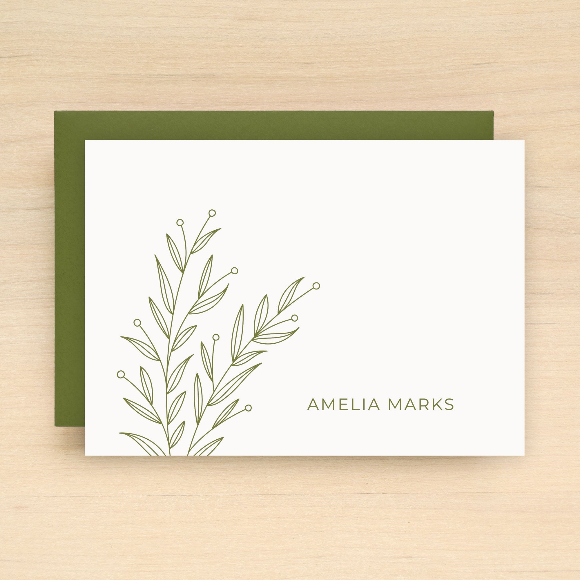 Wisp Personalized Stationery