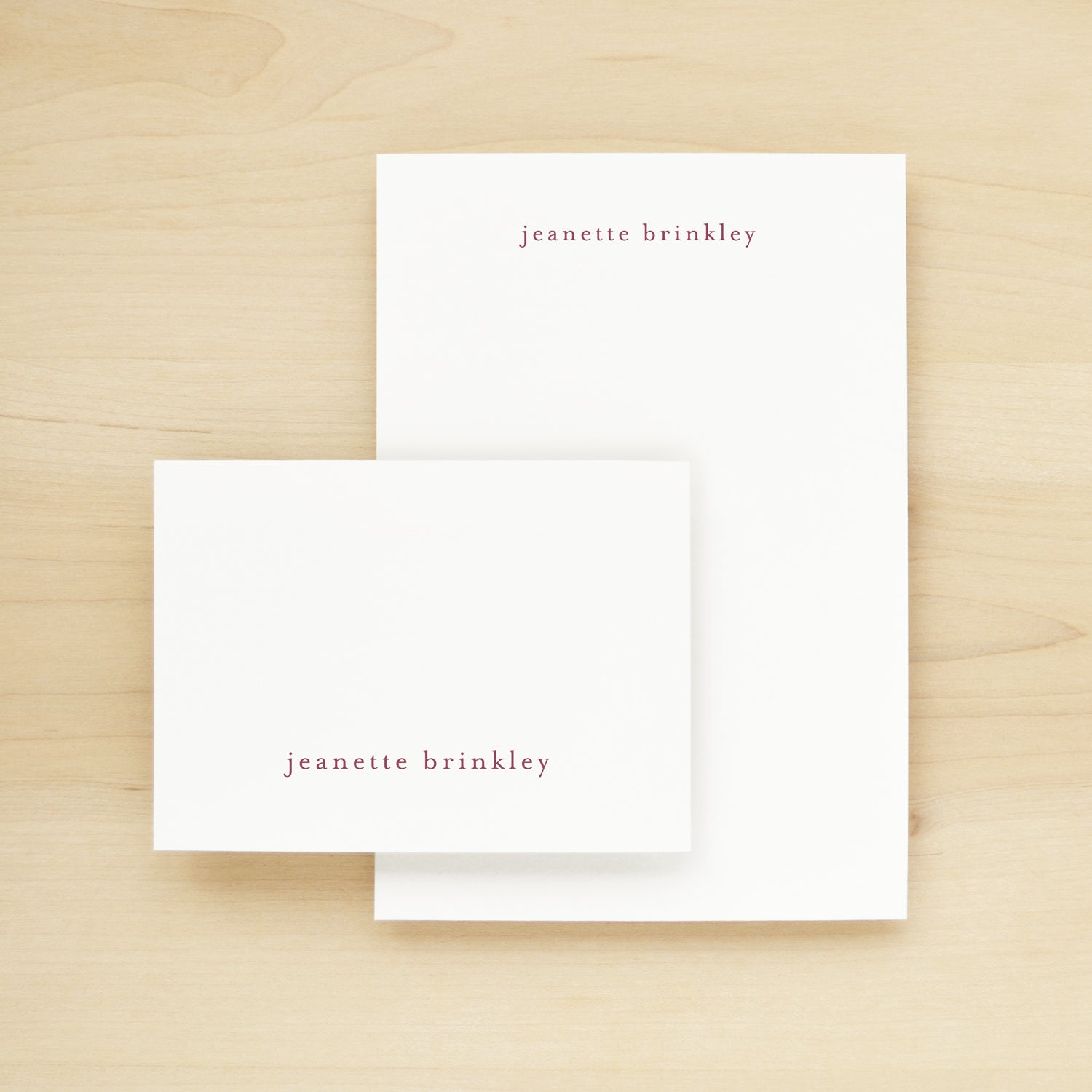 Lowercase Stationery + Notepad Bundle