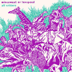 Mincemeat Or Tenspeed ‎– All Critters LP