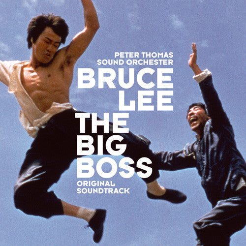 Peter Thomas Sound Orchester ‎– Bruce Lee: The Big Boss Original Soundtrack LP