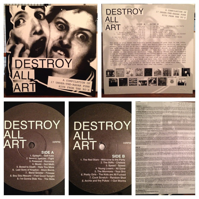 Destroy All Art LP