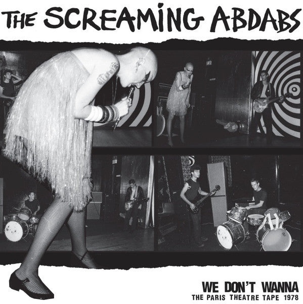 The Screaming Abdabs / City Ram Waddy - split LP