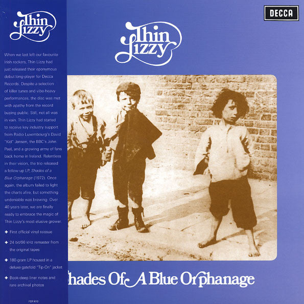 Thin Lizzy ‎– Shades Of A Blue Orphanage LP