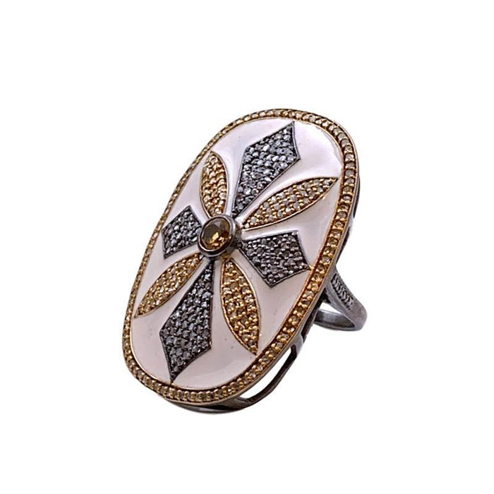 Filigree Statement Ring