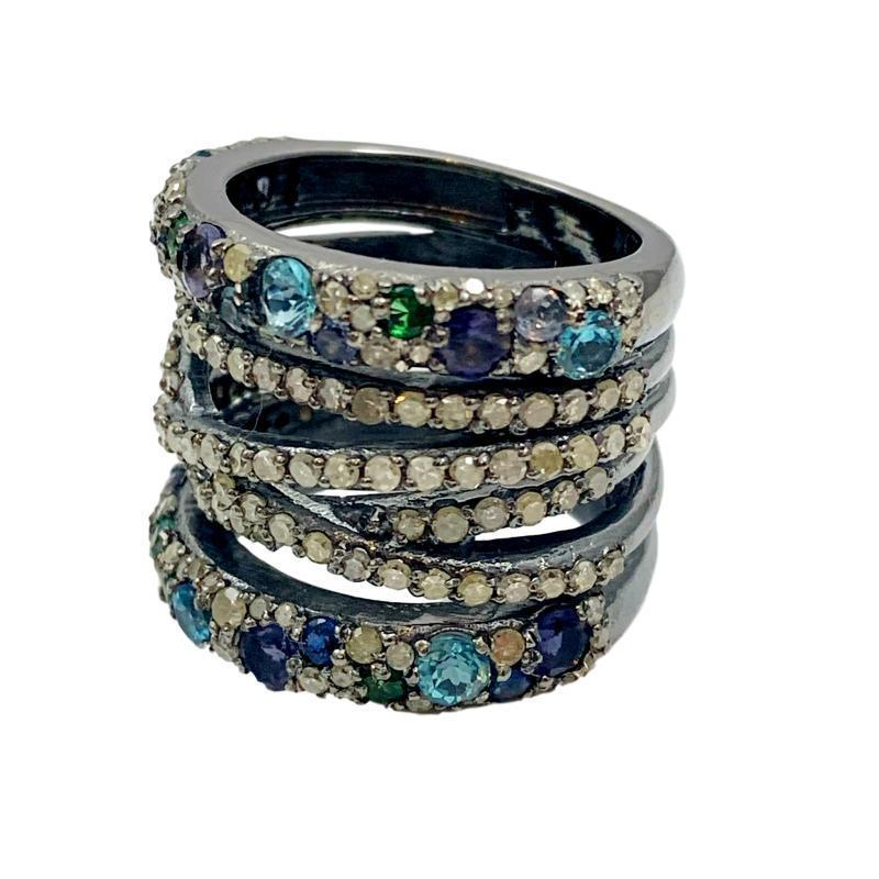 Sprinkle Gemstone Multi-Band