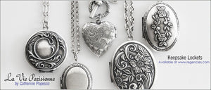 Catherine Popesco Keepsake Lockets