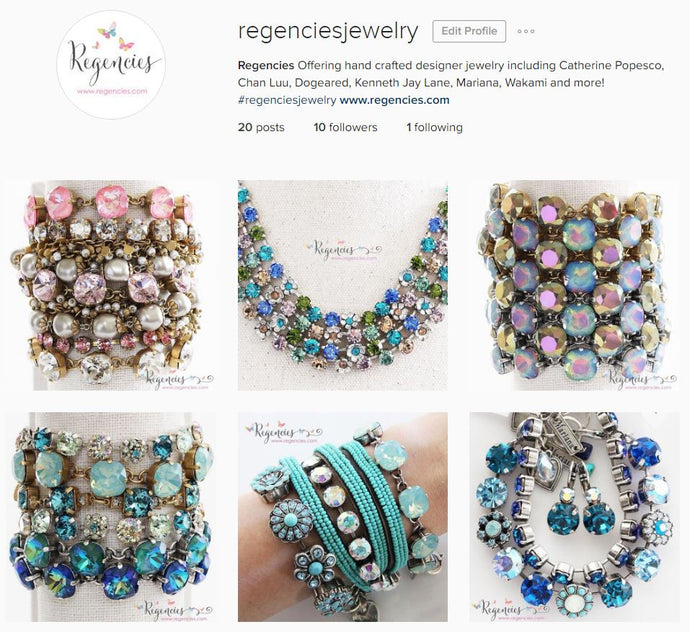 Regencies is now on instagram!