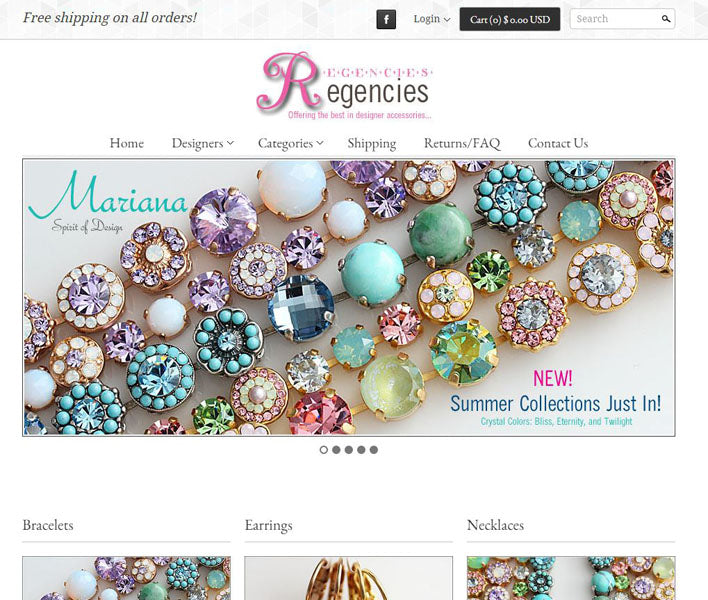 Regencies - New Site Officially Launches!