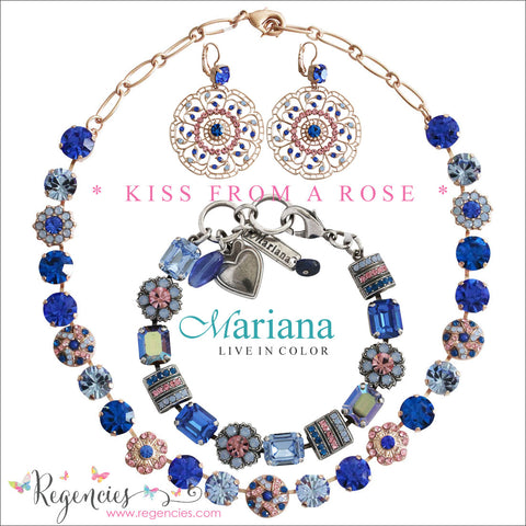 Mariana Jewelry Kiss from a Rose Earrings Bracelets Necklaces