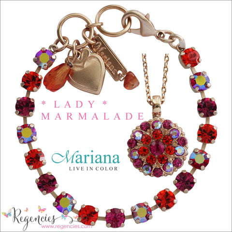 Mariana Jewelry Lady Marmalade Earrings Bracelets Necklaces