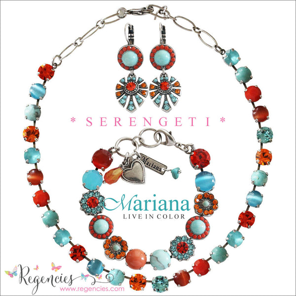 Mariana Jewelry Africa Serengeti Necklace Bracelet Earrings