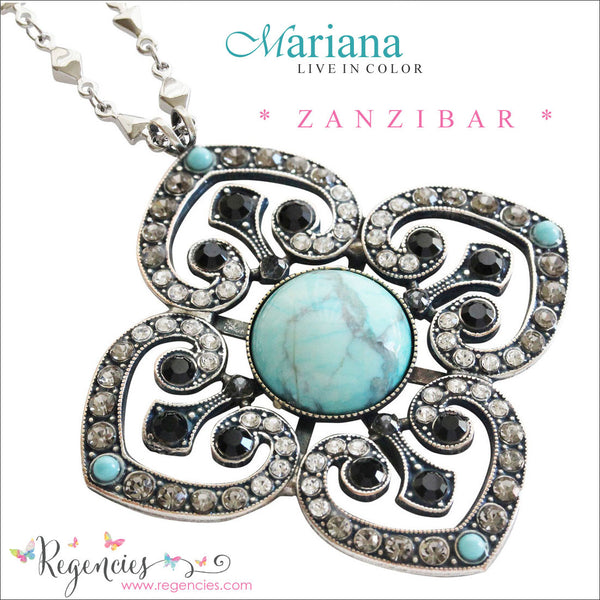 Mariana Jewelry Africa Zanzibar Necklace Bracelet Earrings