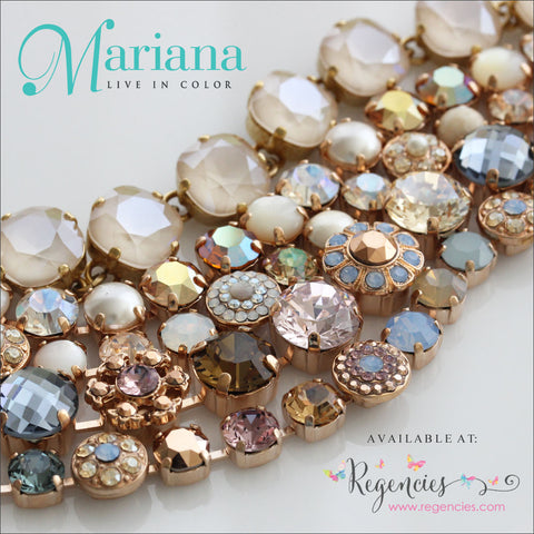 Mariana Jewelry Rhapsode Earrings Bracelets Necklaces