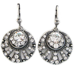 Catherine Popesco La Vie Parisienne Art Deco Sunburst Earrings