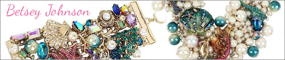 Betsey Johnson Jewelry: Necklace, Earrings, Bracelets, Rings