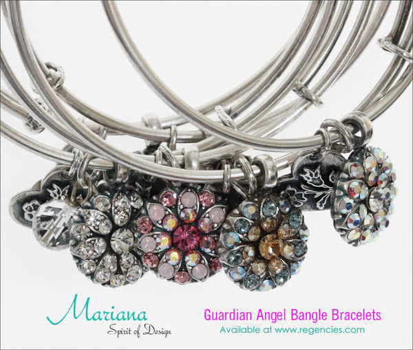 d7395f1c46544 Mariana Guardian Angel Bangle Bracelets – Regencies
