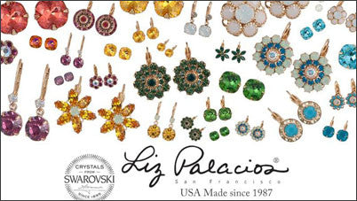 Liz Palacios Jewelry Swarovski Earrings