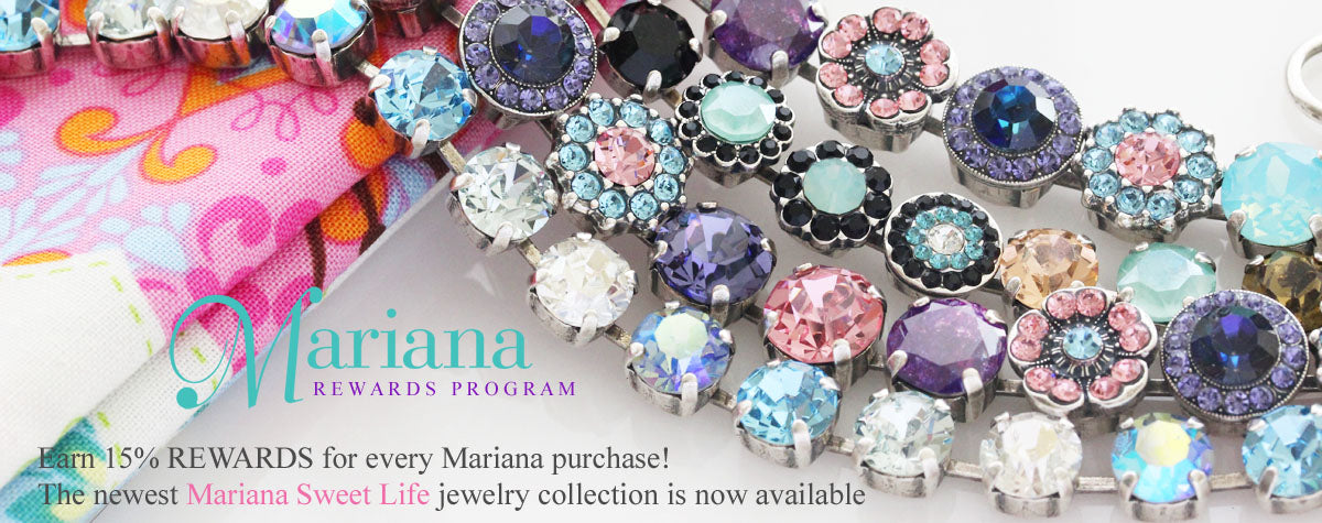 Mariana Jewelry Bracelet Earrings Necklace Ring