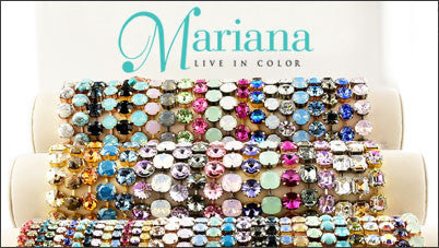 Mariana Jewelry Swarovski Bracelets Earrings Rings
