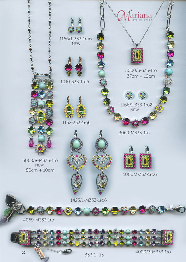 Mariana Jewelry Carribean Life Multi Color Swarovski Bracelets Earrings Necklaces Catalog Page 13