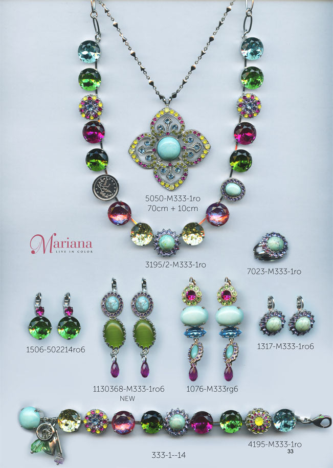 Mariana Jewelry Carribean Life Multi Color Swarovski Bracelets Earrings Necklaces Catalog Page 14
