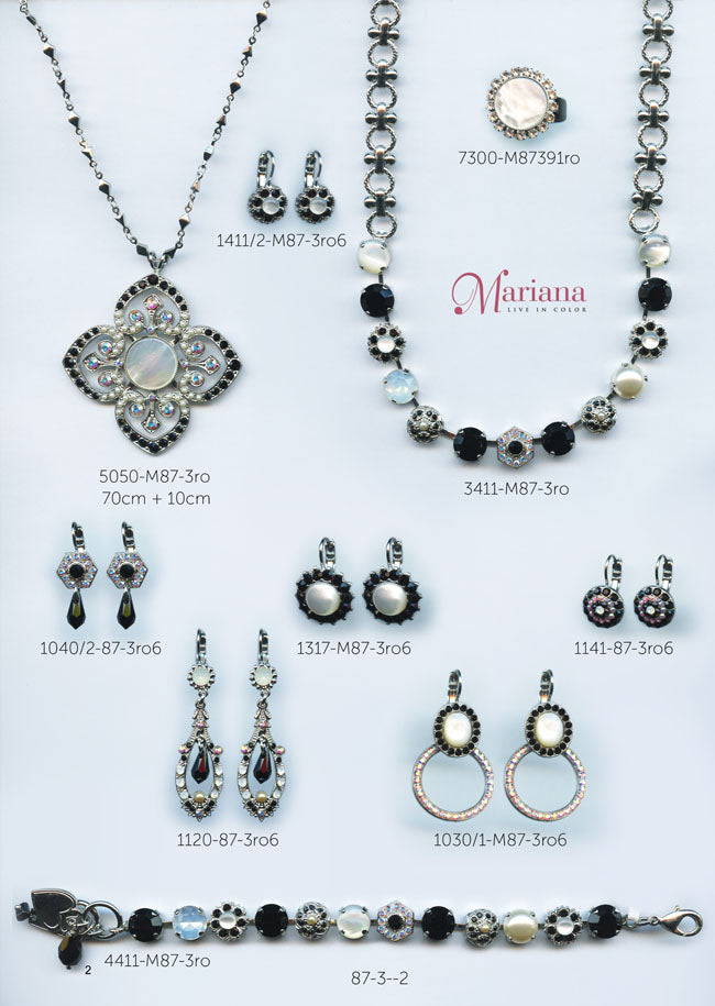 Mariana Jewelry Carribean Life Swarovski Bracelets Earrings Necklaces Catalog St. Martin Page 2