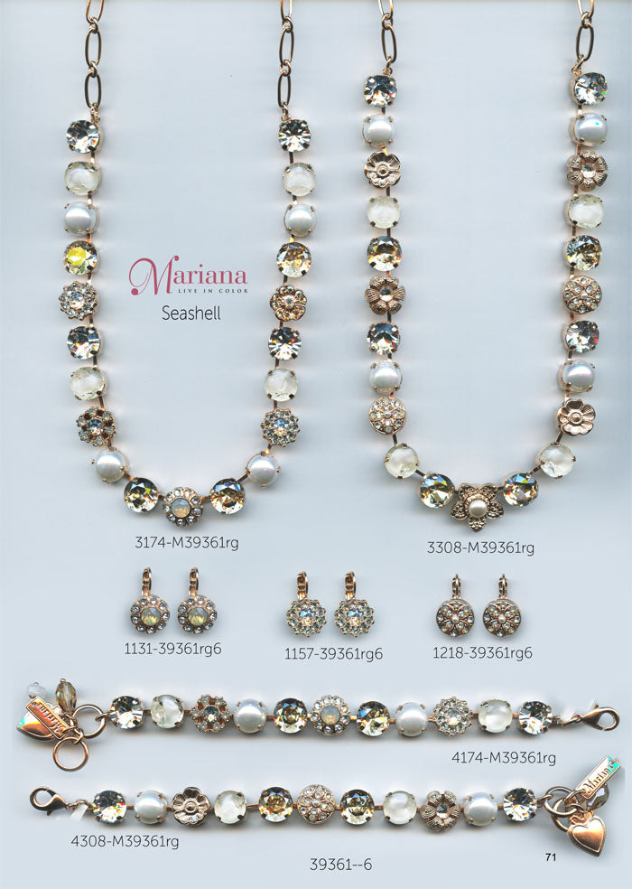 Mariana Jewelry Nature Catalog Swarovski Bracelets, Earrings, Necklaces, Rings Seashell Page 3