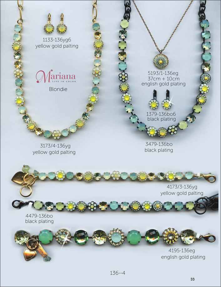 Mariana Jewelry The Sweet Life Bracelets Earrings Necklaces Rings Catalog Blondie Page 2