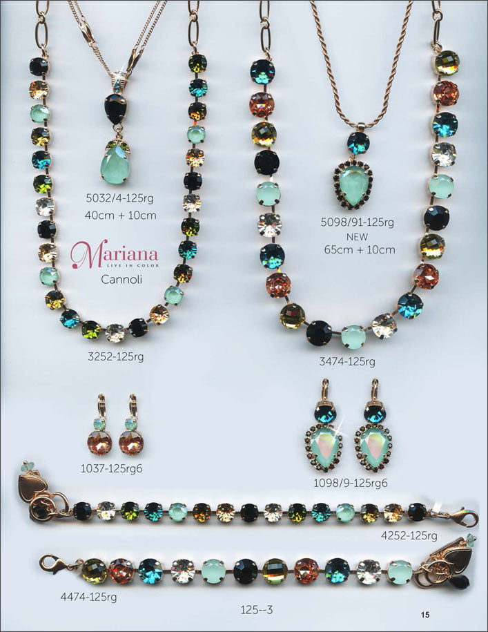 Mariana Jewelry The Sweet Life Bracelets Earrings Necklaces Rings Catalog Cannoli Page 1