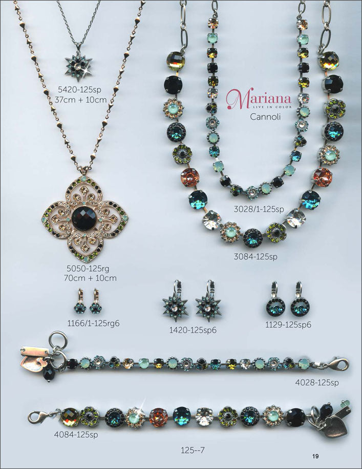 Mariana Jewelry The Sweet Life Bracelets Earrings Necklaces Rings Catalog Cannoli Page 2