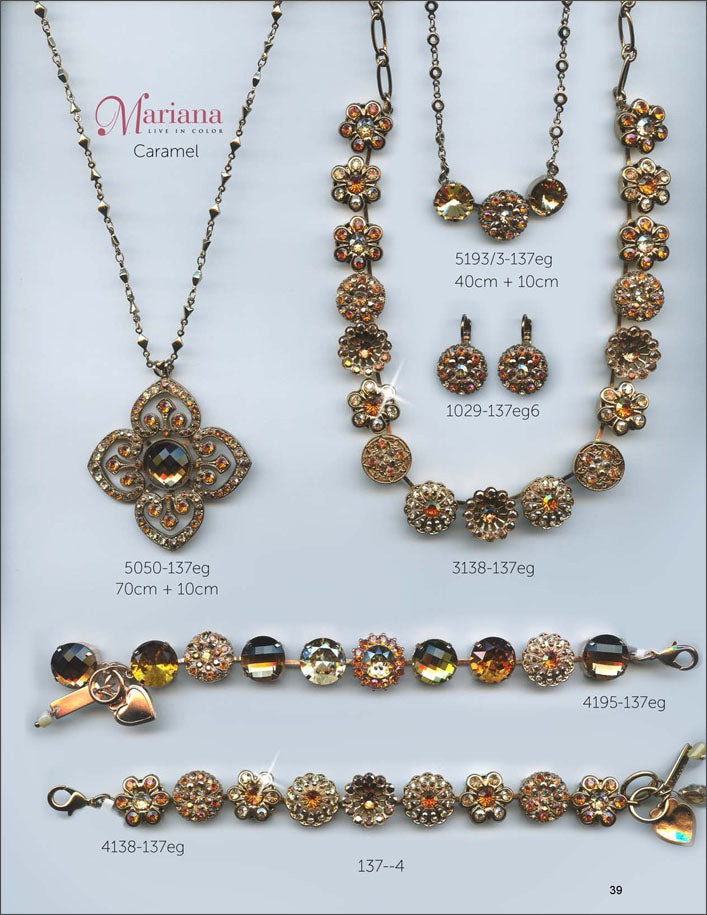 Mariana Jewelry The Sweet Life Bracelets Earrings Necklaces Rings Catalog Caramel Page 1