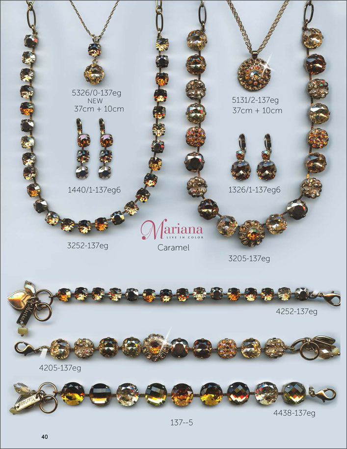 Mariana Jewelry The Sweet Life Bracelets Earrings Necklaces Rings Catalog Caramel Page 2