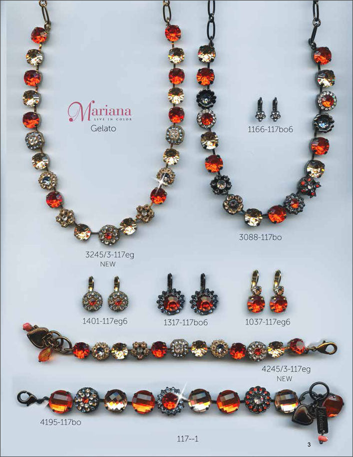 Mariana Jewelry The Sweet Life Bracelets Earrings Necklaces Rings Catalog Gelato Red Page 5