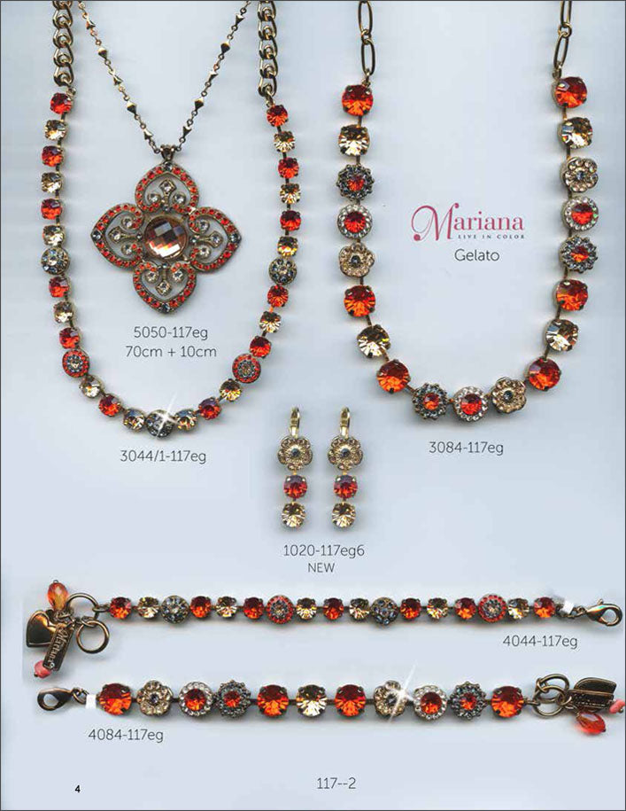 Mariana Jewelry The Sweet Life Bracelets Earrings Necklaces Rings Catalog Gelato Red Page 6