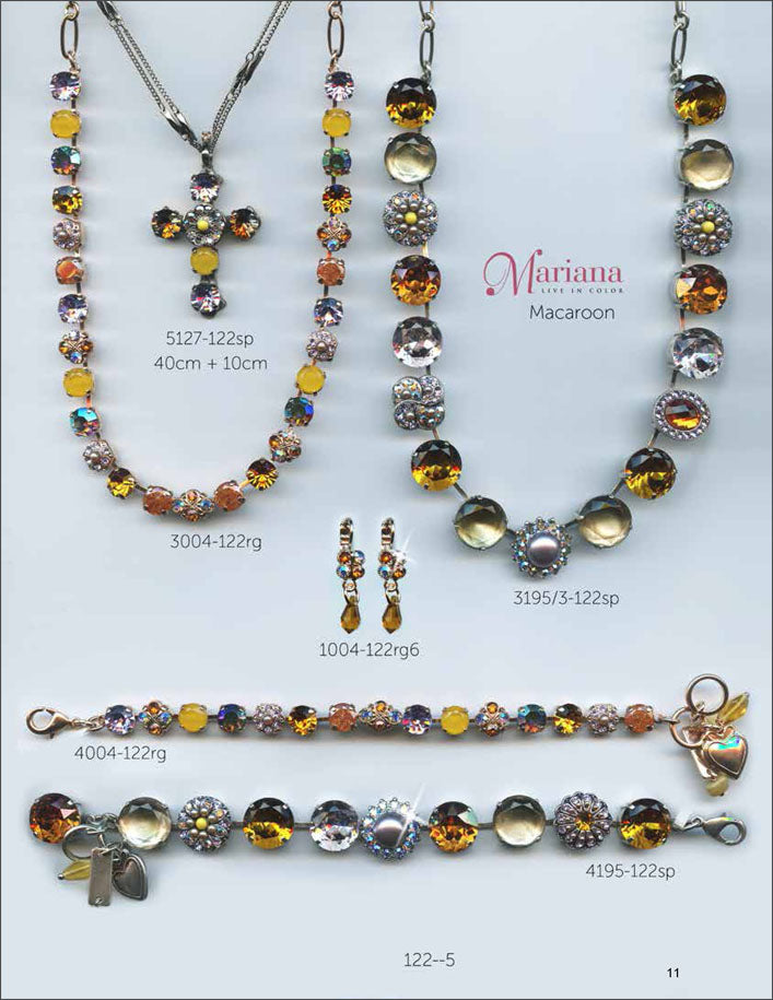 Mariana Jewelry The Sweet Life Bracelets Earrings Necklaces Rings Catalog Macaroon Yellow Lavender Page 8