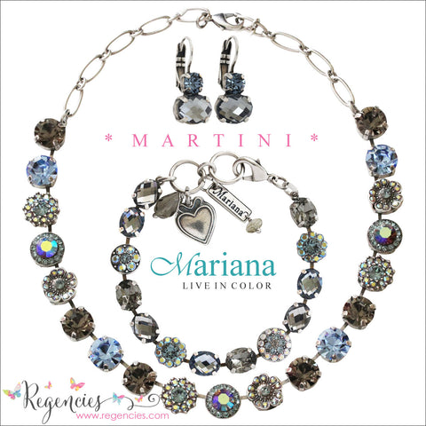 Mariana Blue Black Diamond AB Swarovski Crystal Jewelry