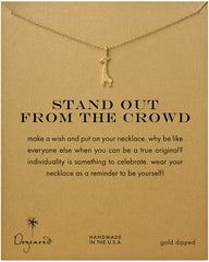 Dogeared Stand Out From The Crowd Giraffe Necklace