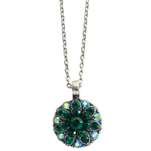 "Mariana Guardian Angel Swarovski Crystal Pendant Necklace, 19"" Green 5212 205"