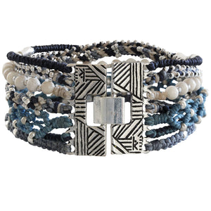 "Wakami All One Cuff Bracelet, 7"" Blue wa0539-04"