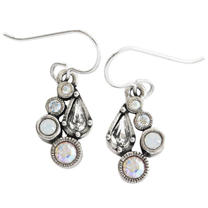 Patricia Locke Bitty Sterling Silver Plated Earrings, Sugar EF1038S