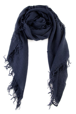 Chan Luu Cashmere and Silk Scarf Wrap - Blue Nights BRH-SC-140