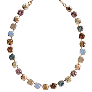 "Mariana ""Rhapsode"" Rose Gold Plated Classic Shapes Swarovski Crystal Necklace, 3252 1092rg"