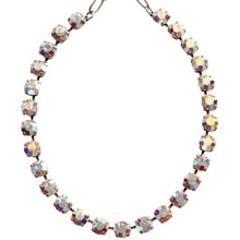 "Mariana Silver Plated Classic Shapes Swarovski Crystal Necklace, 18"" Crystal AB 3252 001AB"