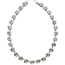"Mariana ""On A Clear Day"" Silver Plated Classic Shapes Swarovski Crystal Necklace, 3252 001001"