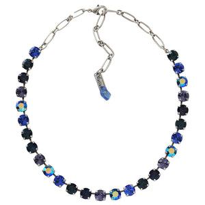 "Mariana ""Electra"" Silver Plated Classic Shapes Swarovski Crystal Necklace, 3252 1026"
