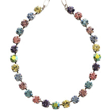 "Mariana Silver Plated Classic Shapes Swarovski Crystal Necklace, 17.5"" Pastel 3252 88"
