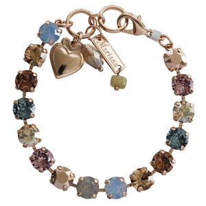 "Mariana ""Rhapsode"" Rose Gold Plated Classic Shapes Swarovski Crystal Bracelet, 7"" 4252 1092rg"