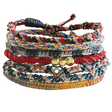 "Wakami The Continents Bracelet, 6.5-7"" Multi wa9706"