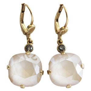 9d5d91d65 Catherine Popesco 14k Gold Plated Swarovski Crystal Round Earrings, 65 –  Regencies